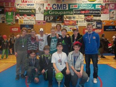 U13 na zahraničním turnaji v Pacé, Francie