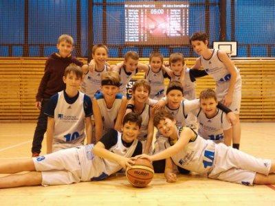 U12 předčasně slaví vítězství v kvalifikaci o NF v Plzni!