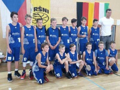 U13 se na Mezinárodním turnaji v Písku v silné konkurenci neztratili