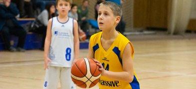 Naši nejmenší rozdávali basketbalovou radost v Mariánkách