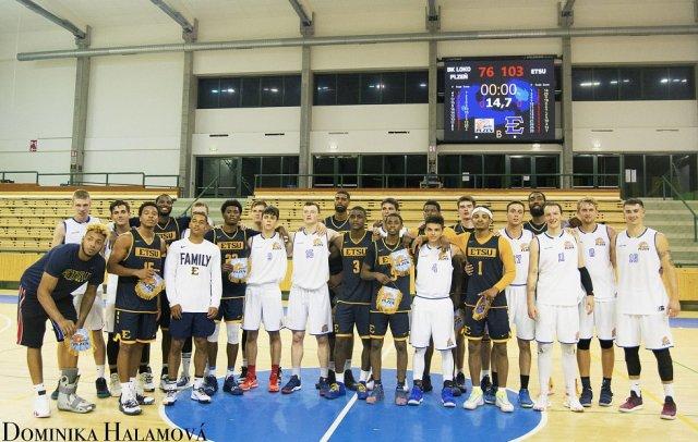 Basketbalisty Lokomotivy prověřil tým z americké NCAA
