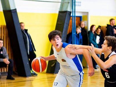Žáci U14 sehráli poslední 2 utkání základní části ligy s úspěšností 50%