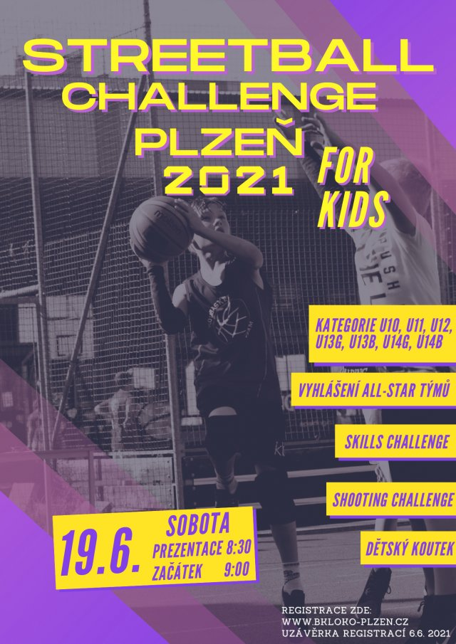 STREETBALL CHALLENGE FOR KIDS JE ZPĚT!