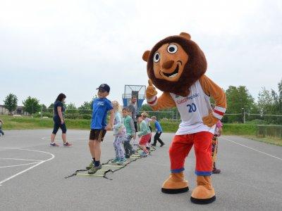 Sportovní akce pro děti v podání Lokomotvy byly v červnu v plném proudu